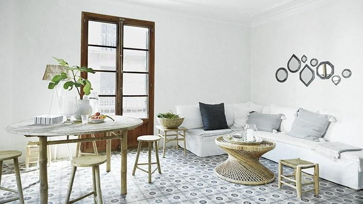 Inspirasi Tegel Motif Kunci Yang Unik Untuk Interior Dekorasi Rumah Vintage Modern