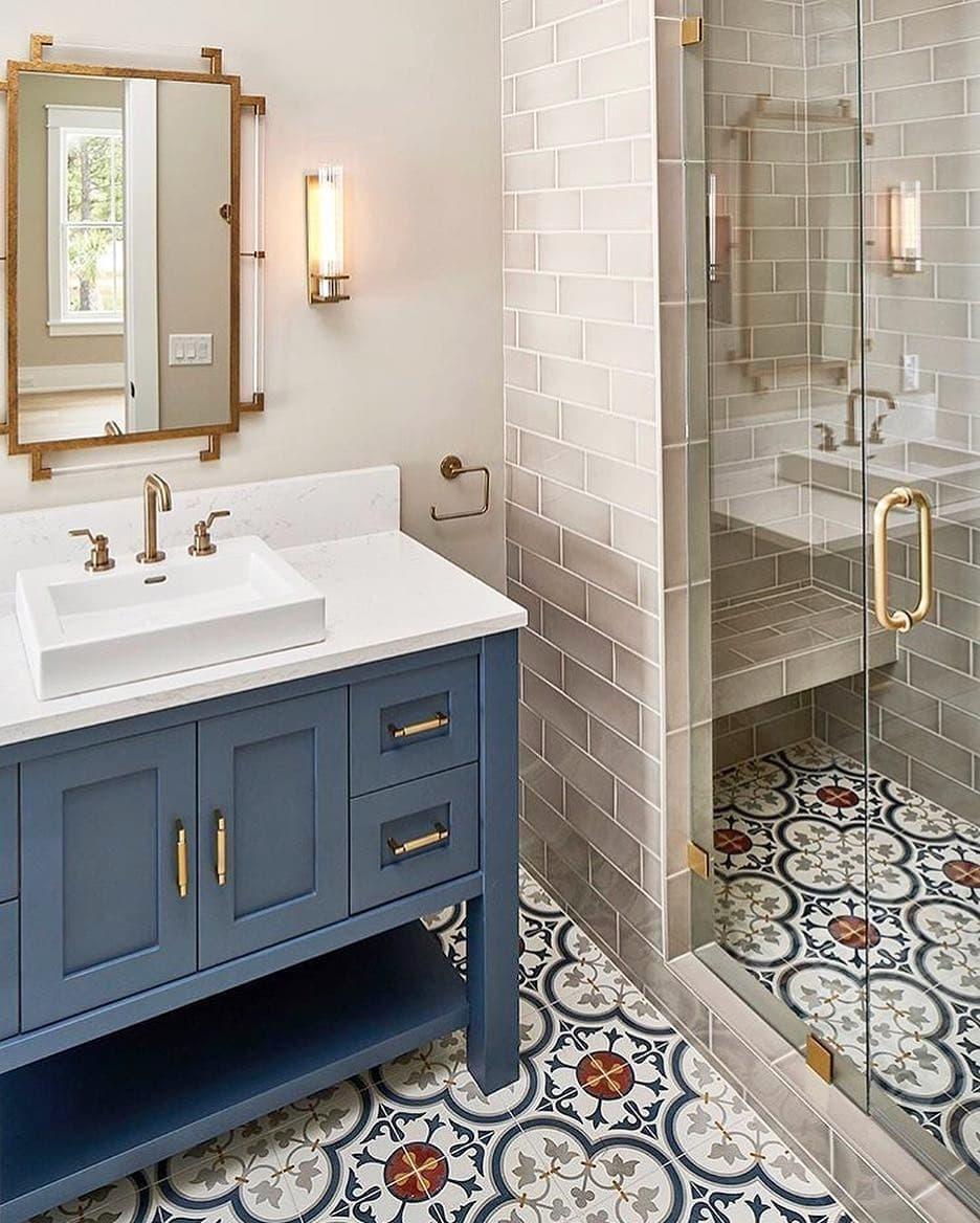 tegel klasik untuk kamar mandi
